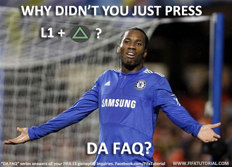 FIFA 13 Tutorial Drogba Da FAQ series