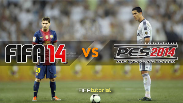 Fifa 14 vs PES2013, faces review, which game is better