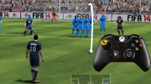 How to do free kicks in FIFA 14