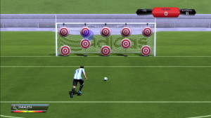 How to take a penalty kick in Fifa14?